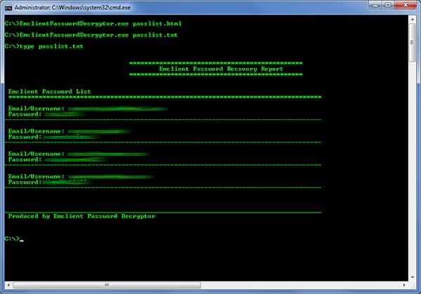 eM ClientPasswordDecryptor