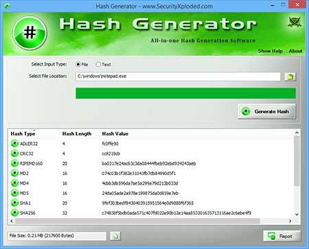 HashGenerator