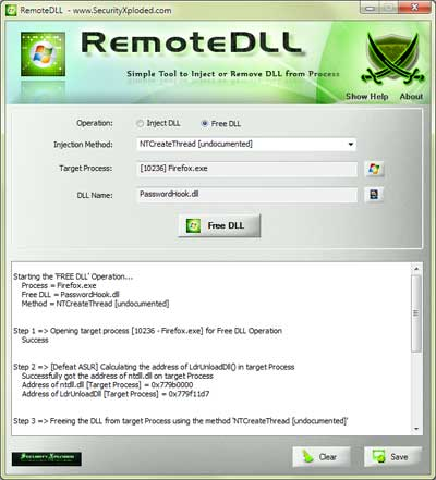 RemoteDLL